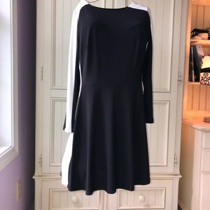 NEW Lauren Ralph Lauren Two Toned Sheath Dress 12P